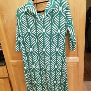 Vfish Kona Palm Green Dress NWT SZ XL